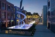 For Rent Commercial Shops With Prime Location Courtyard Sheikh Zayed
