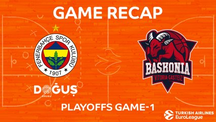 EuroLeague 2017-18 Highlights Playoffs Game 1: Fenerbahce 82-73 Baskonia