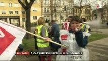En Allemagne, les fonctionnaires obtiennent une hausse 7,5% des salaires
