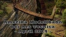 Modelleisenbahn mit Canyon und Rocky Mountains - Ein Video von Pennula für alle Freunde von Modellbahnen und Modelleisenbahnen