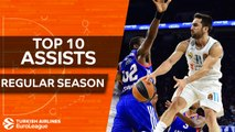 Turkish Airlines EuroLeague, Top 10 Assists of the Regular Season
