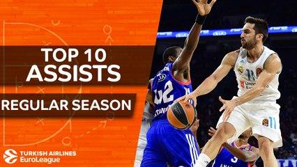 Top 10 Assists of the Regular Season