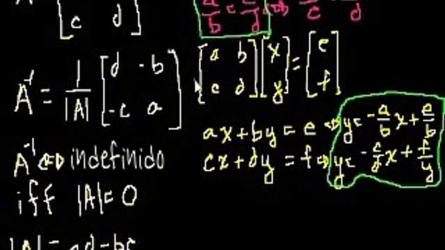 Matrices singulares