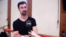 Spectacle hommage au chorégraphe Maurice Béjart: interview du danseur belge Gabriel Arenas Ruiz