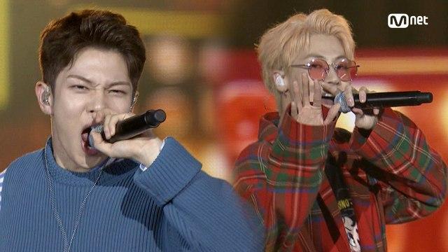 KCON 2018 JAPAN×M COUNTDOWN 엔플라잉(N.Flying) _ INTRO Perf. + 뜨거운 감자(Hot Potato)