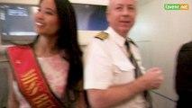 L'Avenir - Airbus A380 et Miss Belgique à Zaventem