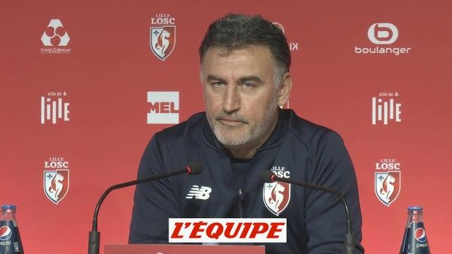 Galtier «On est pas récompensés» - Foot - L1 - Lille
