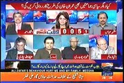 Are you kidding me Imran Khan kicked his own MPA's out & you are saying, he did the wrong thing Ayesha Bakhsh turns off Irshad Bhatti's mic