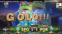 AS Grandes Penalidades (Comentado na CMTV) - SPORTING 5 x 4 PORTO - Meias Finais Taça de Portugal