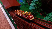 Ces montagnes russes en LEGO sont géniales - Roller coaster LEGO