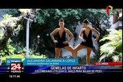 Gemelas colombianas encienden las redes con sus sensuales bailes