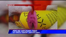 Reward Offered for Info After More Than 700 Pounds of Dynamite Stolen in Pennsylvania