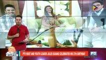 FIFIRAZZI | Sebastian Duterte on Ellen Adaran: Kung masaya siya, ok na ako doon; Julia Barreto, tuloy ang relasyon kay Joshua Garcia; PTV host and yourth leader Jules Guiang celebrates his 27th birthday