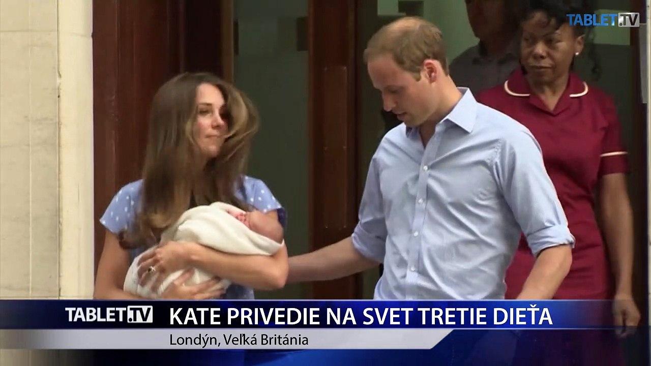Vojvodkyňu Kate hospitalizovali, privedie na svet tretie dieťa
