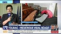 """La ministre de l'Enseignement supérieur évoque de """"nombreuses dégradations"""" à la fac de Tolbiac"""
