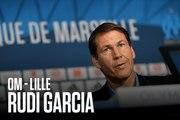 Replay | La conférence de presse de Rudi Garcia avant OM - Lille