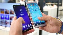Frente a frente: Galaxy S9 vs Sony Xperia XZ2: ¿Cuál es mejor Samsung?