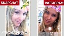 Snapchat vs. Instagram Stories: el juego de las diferencias