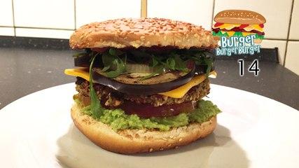 Vegetarischer Burger mit Aubergine & Avocado - BurgerBurgerBurger 14
