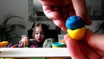 Confection d'un crocodile rigolo en pate à modeler Play-Doh - Clay Croco