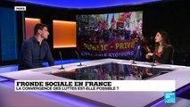 """Convergence des luttes: """"Le fil rouge c''est service public pour tous et répartition des richesses"""""""