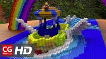 CGI VFX Breakdown HD: Lego Effect Shot and 3d breakdown by Jae Sang Jeong