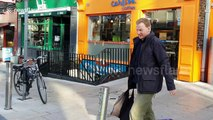 Man confronts protester in Ireland tearing down pro-choice posters