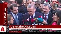 Cumhurbaşkanı Erdoğan�dan kritik derbi açıklaması 'Kumpas var'