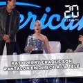 Katy Perry craque son pantalon en plein direct à la télé !
