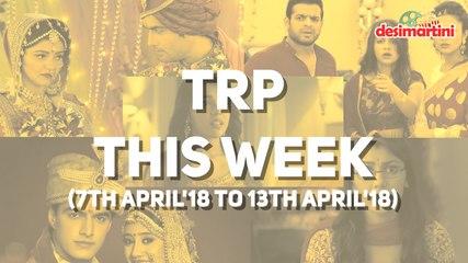 Hindi TV Weekly TRP chart | Top 5 Hindi TV Shows || Latest TV News