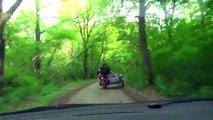 Quand la police russe poursuit des voleurs en Sidecar... Belle course-poursuite