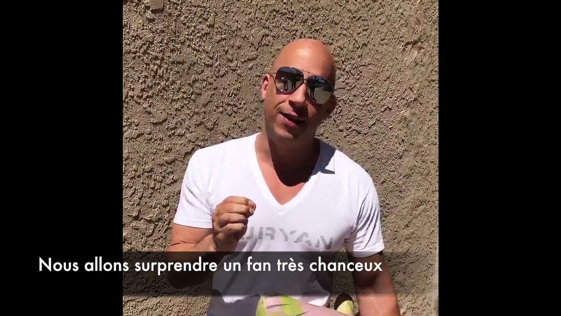 Vin Diesel brings a Groot Toy to a fan - Marvel Avengers