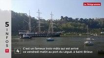 Le tour de Bretagne en cinq infos - 20/04/2018