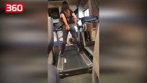 I hodhi të dashurës piper në mbathje, veprimet e saj në palestër e lënë atë pa fjalë (360video)
