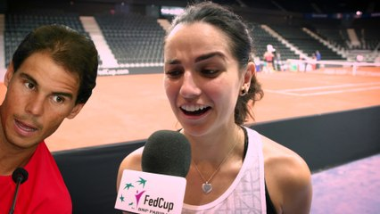 Get to know the French Fed Cup team