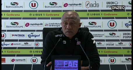 POINT PRESSE (EAG) : AVANT GUINGAMP - MONACO