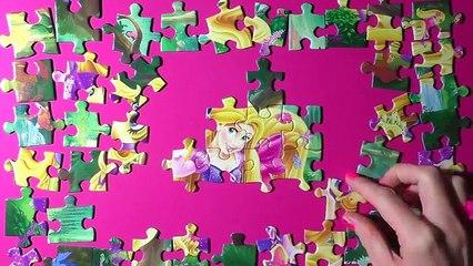 Disney Princess Jigsaw Puzzle Games Ravensburger Rompecabezas Play Kids Toys Learning Activities De