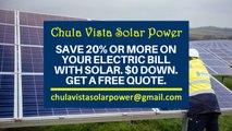 Affordable Solar Energy Chula Vista CA - Chula Vista Solar Energy Costs