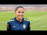 Seleção Brasileira Feminina: Thaisa e Debinha falam sobre a classificação para a Copa do Mundo