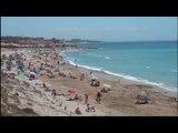 Plage d'Espagne : Un paradis accessible : Belle Plage de sable fin Soleil et Eau turquoise - Vlog