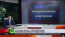 Facebook moves 1,5 billion users away from new EU privacy protections