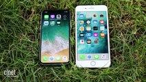 iPhone X vs. iPhone 8 Plus: los mejores teléfonos de Apple frente a frente
