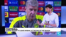 Football- Arsene Wenger to leave Arsenal at the end of season