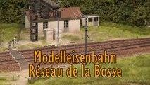 Modellbahn Réseau de la Bosse vom Club Ferroviaire de Franche-Comté in Spur H0 - Ein Video von Pennula über Modellbahnanlagen und Modelleisenbahnanlagen