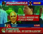 Opposition vs CJI Congress and co. moves to impeachment motion against the CJI Dipak Misra