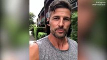The Bachelor's Tim Robards shares video spreading positivity message.