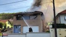 Haute-Saône : un pavillon détruit par les flammes