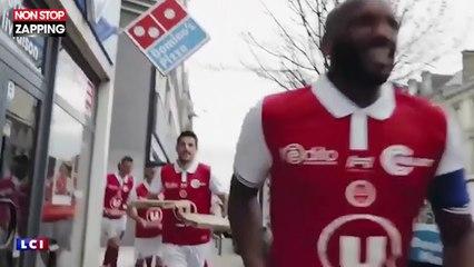 Les joueurs du Stade de Reims envahissent un Conforama pour fêter leur montée en Ligue 1 (vidéo)