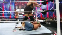 The Rock saves John Cena and gets attacked by CM Punk at 1000th Episode of RAW - 7-23-12