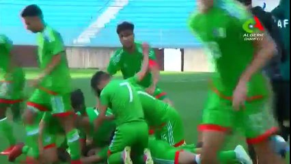U20 : But de Mohamed Belkheir ( Tunisie 1-2 Algérie )
